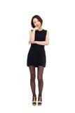Yong pretty Asian business woman Stock Photography