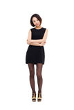 Yong pretty Asian business woman Royalty Free Stock Photo