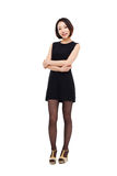 Yong pretty Asian business woman Royalty Free Stock Photos
