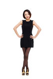 Yong pretty Asian business woman Stock Image
