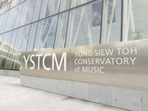 Yong Siew Toh Conservatory of Music Stock Image