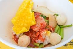 Yong Tau Foo, a Hakka Chinese food Stock Photography