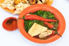 Yong Tau Fu, het populaire Chinese voedsel van Hakka in Maleisië royalty-vrije stock afbeeldingen