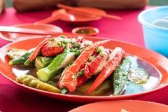 Yong Tau Fu, het populaire Chinese voedsel van Hakka in Maleisië royalty-vrije stock foto