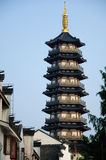Yongan Pagoda Shanghai China Royalty Free Stock Photo