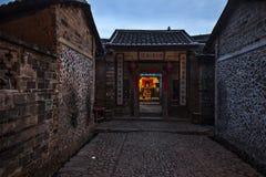 Yongding Hakka Tulou Royaltyfria Foton