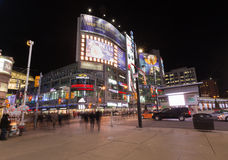 Yonge and Dundas Square Stock Photo
