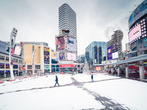 Yonge & Dundas Square stock photos