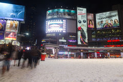 Yonge and Dundas Square in the Winter Stock Photo