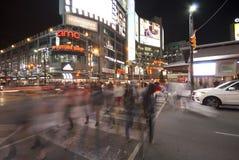 Yonge och Dundas fyrkant, Toronto Royaltyfria Bilder