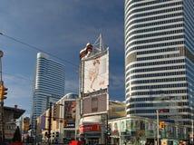 Yonge St. at Dundas in Toronto Royalty Free Stock Image