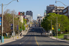 Yonge Street During the Day Stock Photography