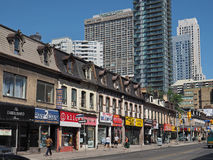 Yonge Street Toronto Royalty Free Stock Photography