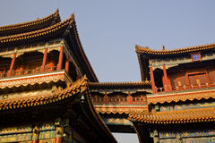 Yonghe Gong Buddhist Temple Beijing China Royalty Free Stock Photos
