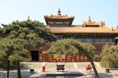 Yonghe tempel - Peking - Kina (3) Arkivfoton
