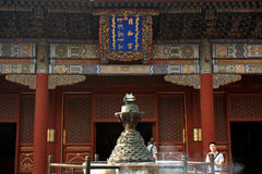 Yonghegong Lama Temple, Beijing, China Royalty Free Stock Image