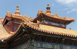 Yonghegong Lama Temple Stock Image