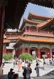 Yonghegong Lama Temple Royalty Free Stock Photo