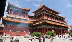 Yonghegong Lama Temple Stock Photo