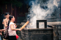 Yonghegong Lama Temple Royalty Free Stock Photography