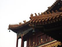 Yonghegong Lama Temple.The Hall of Harmony and Peace.One of the Stock Photography