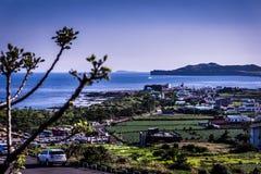 Yongmeori plaża przy Jeju wyspą zdjęcia stock