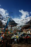 The Yongming Glacier Royalty Free Stock Photography