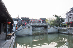Yongning bridge in the morning Stock Images