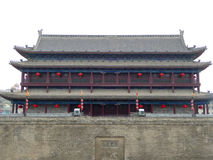 Yongning gate tower Royalty Free Stock Images