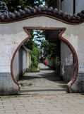 Yongning town in sichuan,china Royalty Free Stock Images
