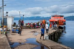 Yongoro,塞拉利昂,西非 免版税图库摄影