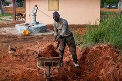 Yongoro,塞拉利昂,西非 库存图片