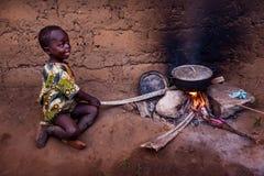 Yongoro,塞拉利昂,西非 库存照片