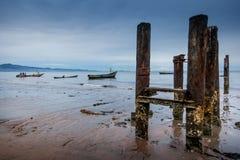 Yongoro,塞拉利昂,西非- Yongoro海滩  免版税库存图片
