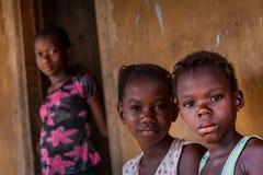 Yongoro, Sierra Leone, África occidental Imagen de archivo
