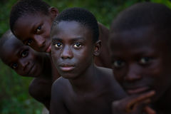 Yongoro, Sierra Leone, África occidental imagenes de archivo