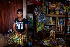 Yongoro, Sierra Leone, afryka zachodnia Obrazy Stock