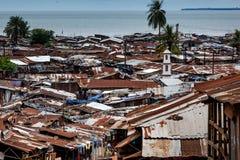 Yongoro, Sierra Leone, afryka zachodnia Fotografia Royalty Free