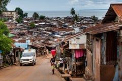 Yongoro, Sierra Leone, afryka zachodnia Zdjęcia Stock