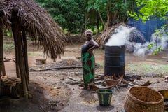 Yongoro, Sierra Leone, afryka zachodnia Zdjęcie Stock
