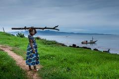 Yongoro, Sierra Leone, afryka zachodnia - plaże Yongoro Zdjęcie Royalty Free