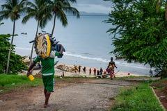 Yongoro, Sierra Leone, afryka zachodnia - plaże Yongoro Zdjęcia Royalty Free