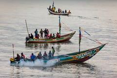 Yongoro, Sierra Leone, afryka zachodnia - plaże Yongoro Fotografia Stock