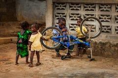 Yongoro, Sierra Leone, West-Afrika royalty-vrije stock foto
