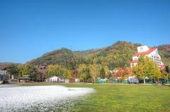 YongPyong Ski Resort, South Korea Royalty Free Stock Image