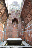 Yoni at of Chau Say Thevoda Castle, Cambodia Stock Photo