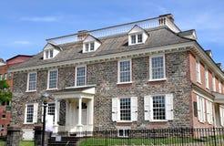 Yonkers, NY : 1693年Philipsburg庄园 库存图片