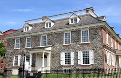 Yonkers, NY: Поместье 1693 Philipsburg Стоковое Изображение