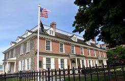 Yonkers, NY: 1693 Philipsburg Rezydencja ziemska Obraz Royalty Free