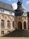 Yonne, the picturesque castle of Saint Fargeau Royalty Free Stock Image